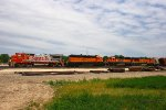 Westbound BNSF Local Train